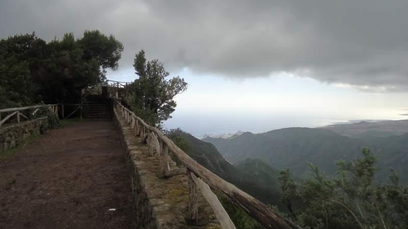 At Pico del Ingles.