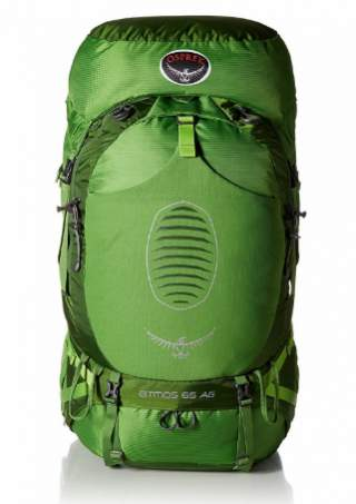 The previous Osprey Atmos AG 65 pack.