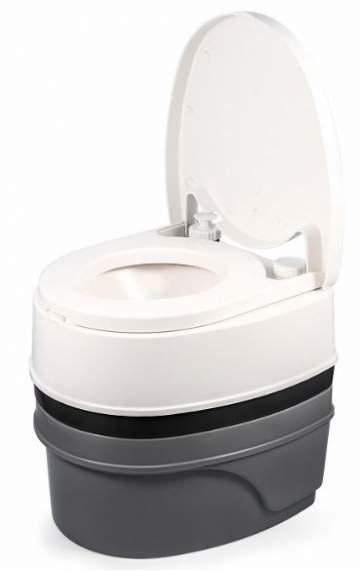 Camco Premium 41545 flushing toilet.