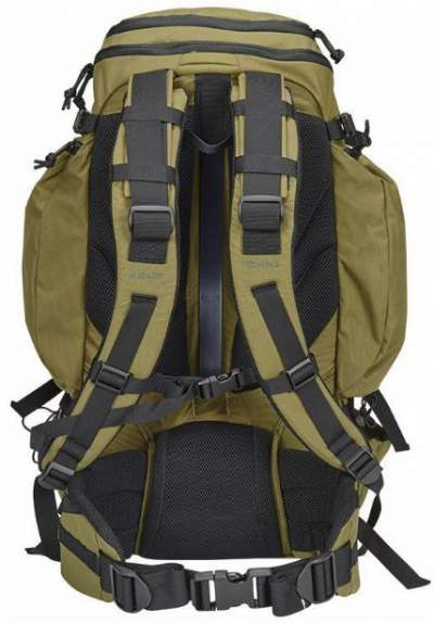 Kelty Redwing 44 Tactical Pack - suspension system.