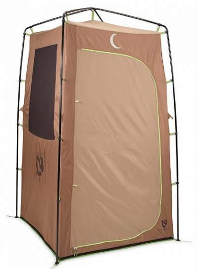 NEMO Heliopolis Portable Shower Tent.