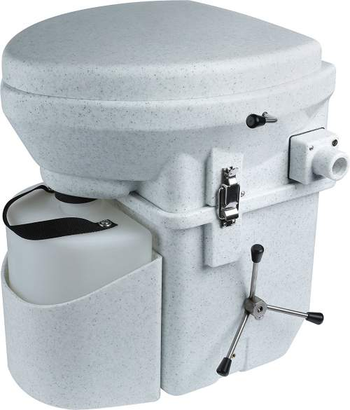Nature's Head Self Contained Composting Toilet.