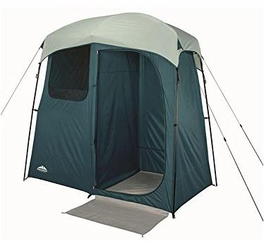 Northwest Outdoor Portable Two Room Shower Tent.