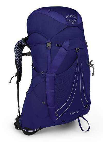 Osprey Eja 38 backpack for women - front view.