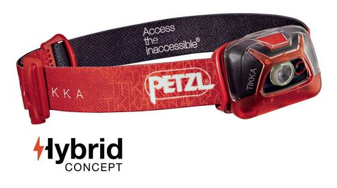 Petzl Tikka Headlamp in one out of 4 colors.