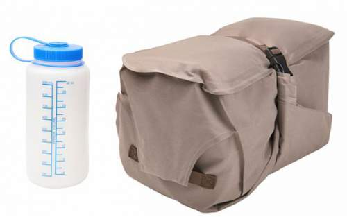 This is the double pad nicely packed in its carry bag which doubles as the pump sack.