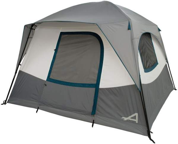 The partial coverage fly creates a small front awning.