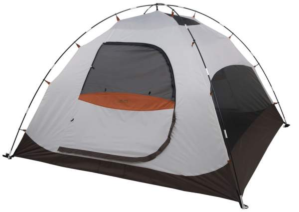 The Meramac 2 tent shown without the fly, note that the brow pole is missing here.