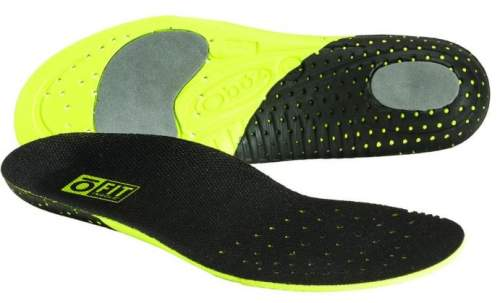 OFit insole - the bottom and the top view.