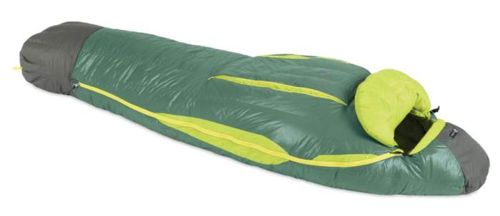Nemo Ramsey 15-Degree Down Mummy Sleeping Bag.