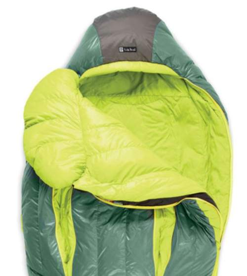 The close view of the upper section with the thermo gills and the blanket.
