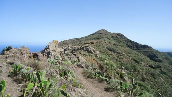 This is the highest point of the route, around 520 meters above the sea.