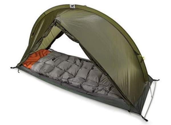 RhinoWolf All-In-One Tent, Sleeping Bag, and Mattress.