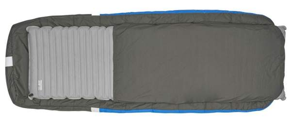 Integrated sleeve for a pad.