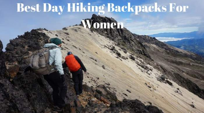 Best Day Hiking Backpacks For Women.