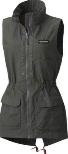 The sleeveless anorak-style vest.
