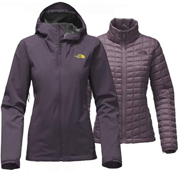The North Face Women's ThermoBall Triclimate Jacket.