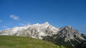 Climbing Mala Mojstrovka