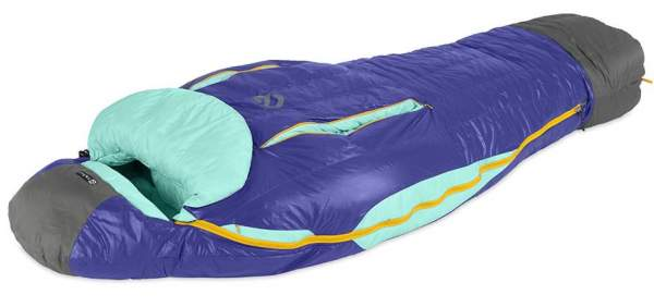 Nemo Women's Cleo 15-Degree Down Mummy Sleeping Bag.