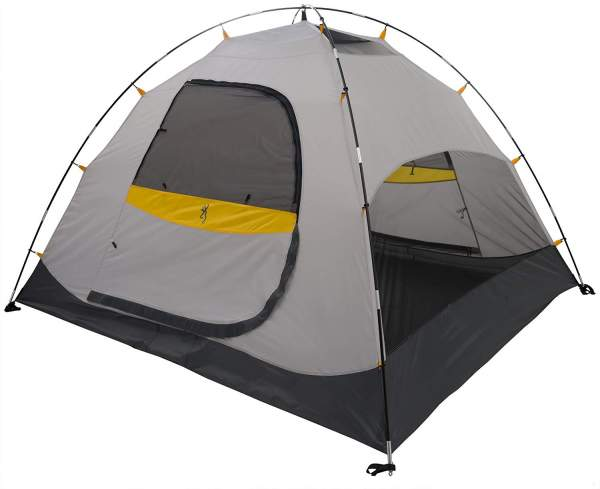 The Hawthorne 4 tent shown without the fly.