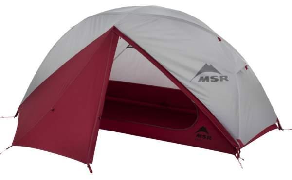 MSR Elixir 1-Person Lightweight Backpacking Tent.