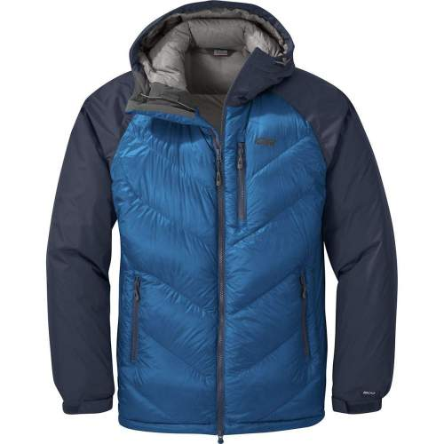 Outdoor Research Men's Alpine Down Hooded Jacket.