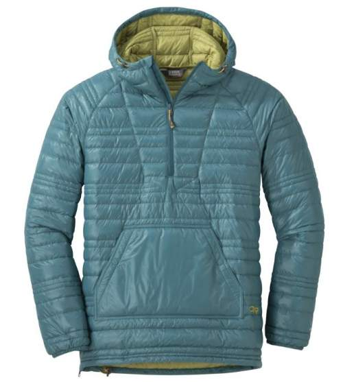 Outdoor Research Men's Baja Down Pullover.