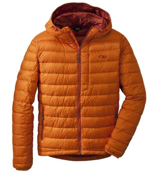 Outdoor Research Men's Transcendent Down Hoody.