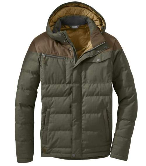 Outdoor Research Men's Whitefish Down Jacket.