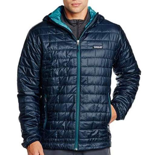 Patagonia Nano Puff Hoody for men.