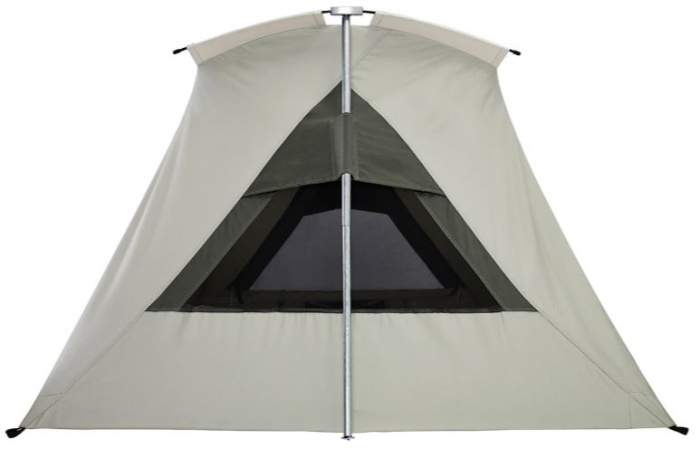 The side view showing the window and one of the two leg poles.  sc 1 st  Mountains For Everybody : kodiak quick set tent - afamca.org