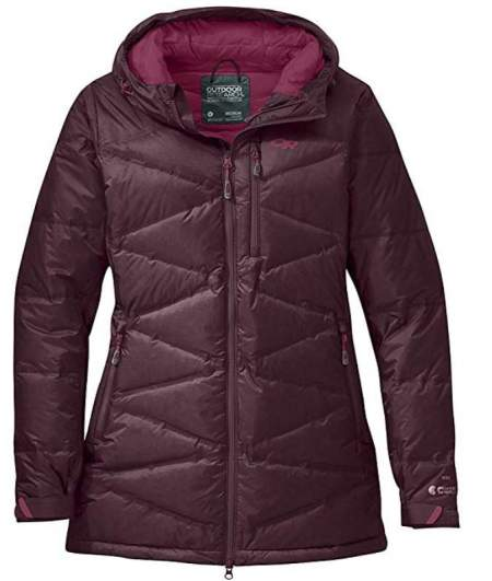 Outdoor Research Women's Floodlight Down Parka.