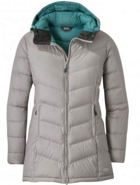 Outdoor Research Women's Transcendent Down Parka.