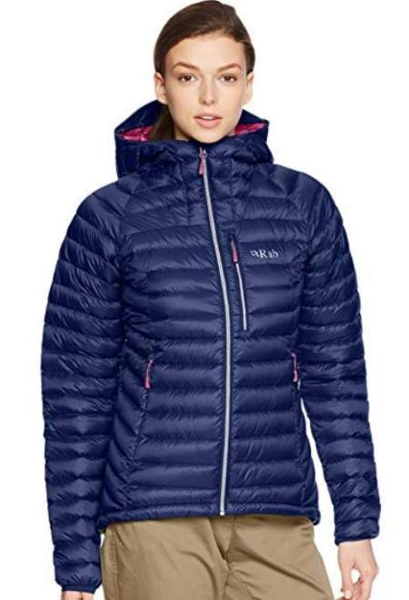 Rab Women's Microlight Alpine Jacket.