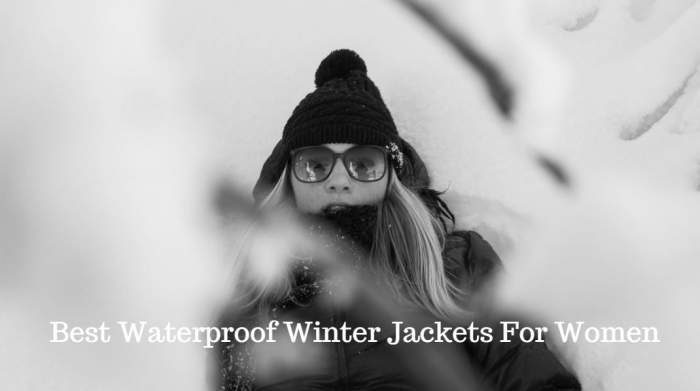 Best Waterproof Winter Jackets For Women