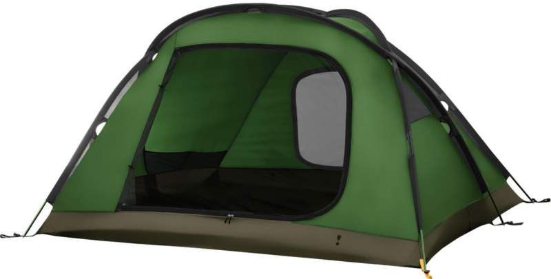 This is the Assault 4 tent shown without the fly, no mesh on the inner tent.