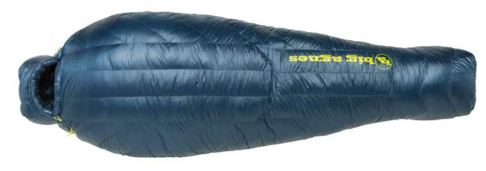 Big Agnes Orno UL 0 Degree Sleeping Bag.