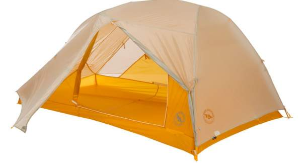 Big Agnes Tiger Wall UL Tent with rain fly.