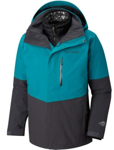 Columbia Men's Wild Card Interchange Jacket in one out of 4 colors.