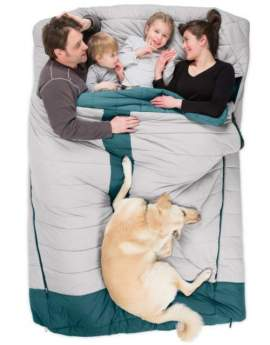 Nemo Jazz Duo 20-Degree Sleeping Bag.