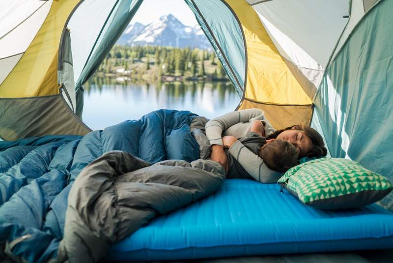 Therm-a-Rest NeoAir Camper Duo Sleeping Pad.