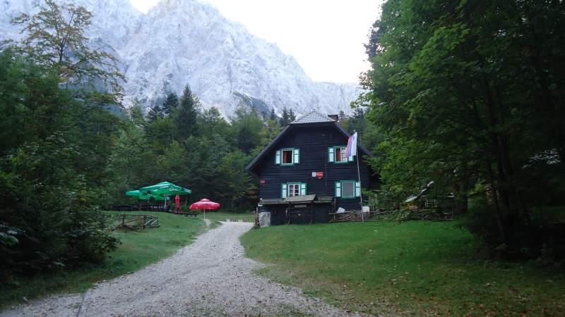 The Krnica hut (Koca v Krnici).
