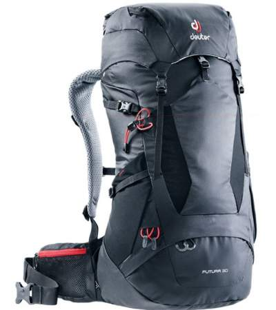 Deuter Futura 30 backpack front view.