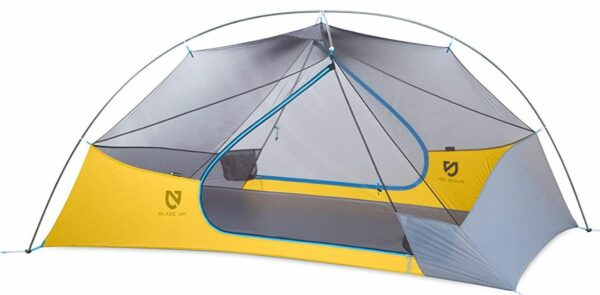 Nemo Blaze tent shown without the fly.