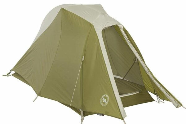 This is the solo version, Big Agnes Seedhouse SL1 Tent.