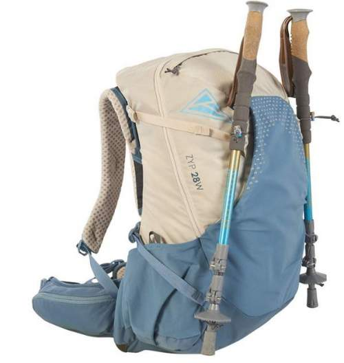 This is the Zyp 28 with trekking poles attached.