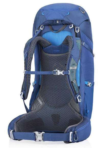 The adjustable suspension system in the new 2019 Gregory Zulu packs.