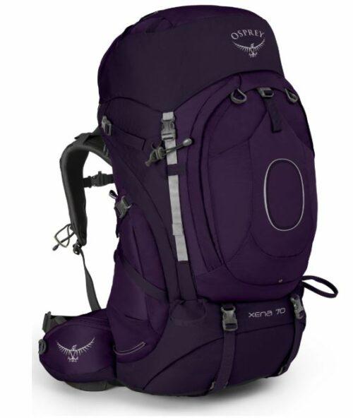 Osprey Xena 70 pack for women.