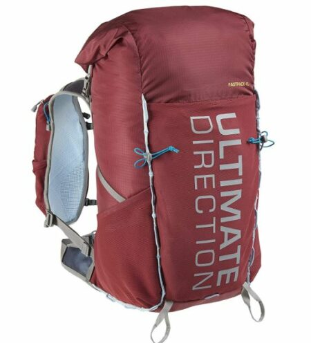 Ultimate Direction Fastpack 45 front view.