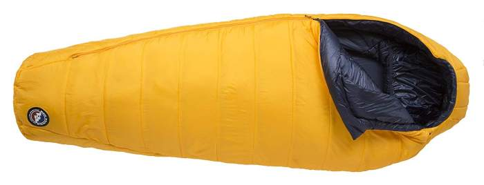 Big Agnes Lost Dog 0 Sleeping Bag.